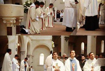 ¡Tres nuevos sacerdotes porteños!